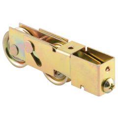 """Sliding Door Tandem Roller Assembly, 1-1/4"""" Steel B.B."""