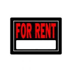 For Rent Sign 10x14 Aluminum