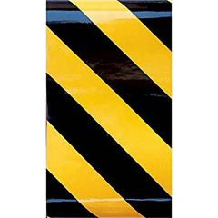 "Reflective Tape 24x2"" Black / yellow"