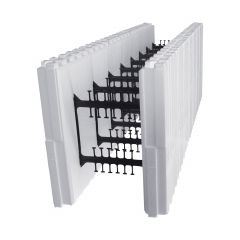 """11"""" Thick Straight Block For Reward Wall ICF System"""