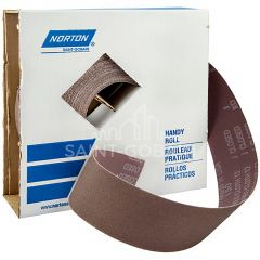"2"" x 50 Yard Aluminum Oxide Metalite Cloth Roll 220 Grit"