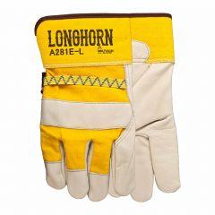 Leather Longhorn Rawhide Gloves
