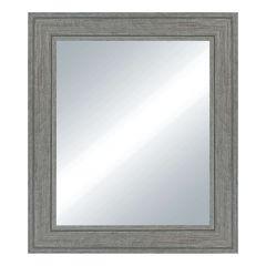 "29"" x 35"" Java Chiseled Rustic Grey Mirror"