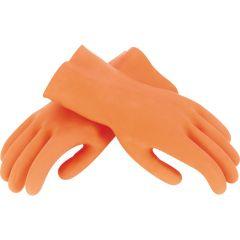 Large Orange Heavy-Duty Multipurpose Gloves