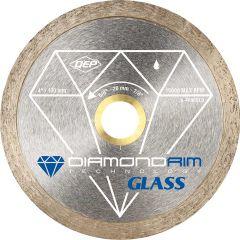 "4"" Glass Series Wet/Dry Continuous Rim Diamond Blade"