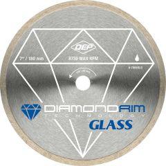 "7"" Glass Series Wet Continuous Rim Diamond Blade"