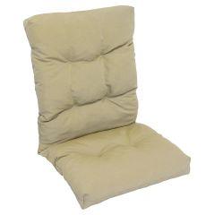 Beige High Back Cushion Beige