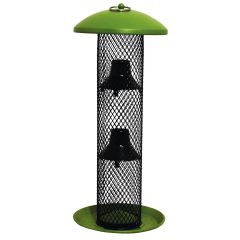 Green Sunflower Seed Tube Wild Bird Feeder