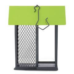 Lime Dual-Seed Wild Bird Feeder