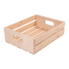 """16"""" Half Tray Pine Crate"""