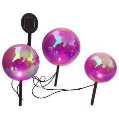 Solar Glass Ball- 3/Pack