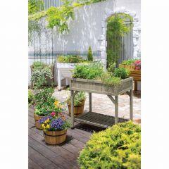 Cedar Raised Herb Garden Planter - 8 Pocket