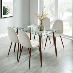 Abbot Dining Table- Walnut