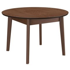 Alero Round Dining Table- Walnut