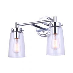 Rory 2 Light Chrome Vanity Light