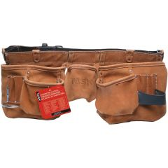Leather Belt 11 Pocket Oversize Carpenter Apron