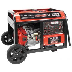 12000 Watt Gas Generator With Electric Start And Battery