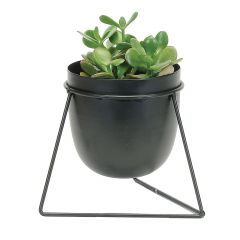 Bullet Planter In Triangle Stand