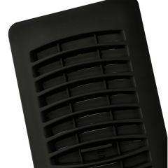 "4"" x 10"" Black Plastic Reg"