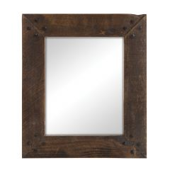 "12"" x 14"" Rustic Cobbler's Mirror"