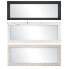 "16"" x 40"" Assorted Panel Perfection Mirror"