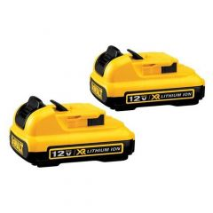 12V Max Lithium Ion Battery 2.0Ah- 2/Pack