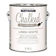 Chalked Paint Linen White 3.78 L