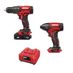 PWRCore 20 Combo: Drill & Impact, 2.0Ah 20V Battery, Charger