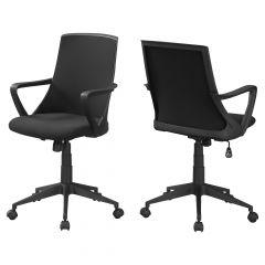 Black Mesh Multi Position Mid Back Office Chair