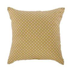 "Mustard Yellow 15"" x 15"" Motif Cushion"
