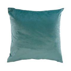 """Jade Green 17"""" x 17"""" Velvet Cushion"""