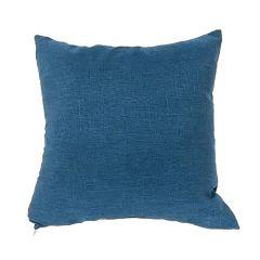 """Blue 17"""" x 17"""" Linen Cushion"""