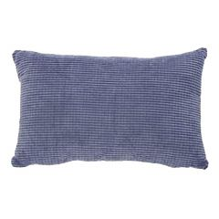 "Blue Squared Motif 17"" x 11"" Cushion"