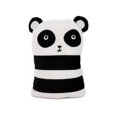 "Black and White Panda 6"" x 7.5"" Doorstopper"