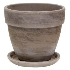 Chocolate Marble Lavante Pot 7.5""