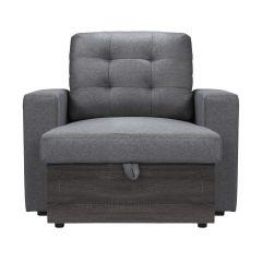 Grey Ben Lounger with Storage