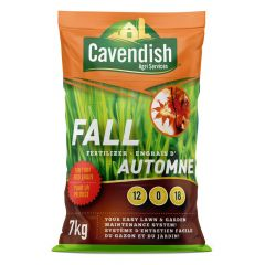 7KG Cavendish Agri Fall Fertilizer 12-0-18