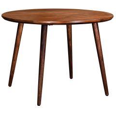 """Arnav Solid Walnut Circular 42"""" Dining Table"""