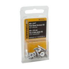 "3/4"" Flat Head Screw PROformance-16/Pack"
