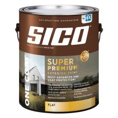 Sico Ext High Build Flat 3.78L