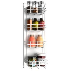 "8"" Door Mount Spice Rack"