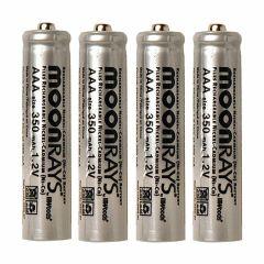 Rechargable 300mah NiMh AAA Batteries-4/Pack