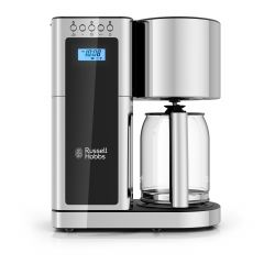 Russell Hobbs 8 Cup Coffee Maker With Black Glass Accents