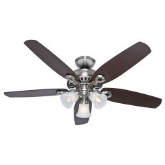 "Hinnman 3-Light, 5-Blade 52"" Ceiling Fan"