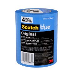 ScotchBlue 36 mm x 55 m Blue Original Painter's Tape-4/Pack