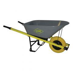 ERIE 6 cu. ft. Steel Landscaper Wheelbarrow with FF Tire
