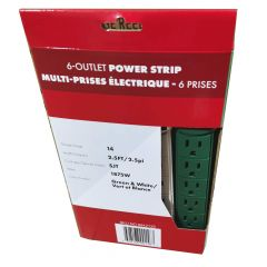 Outlet Power Bar-2/Pack