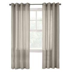 """52"""" x 84"""" Limbourg Linen Light Filtering Curtain"""