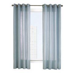 "52"" x 84"" Limbourg Blue Light Filtering Curtain"
