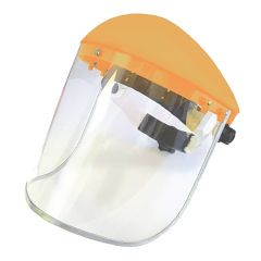 Face Shield With Ratchet Suspension